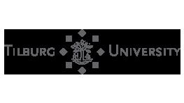 Premium Merk Tilburg University Logo Grijs Samenwerking BigFish Animatiestudio