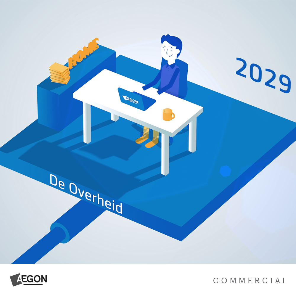 Project AEGON Commercial animatie