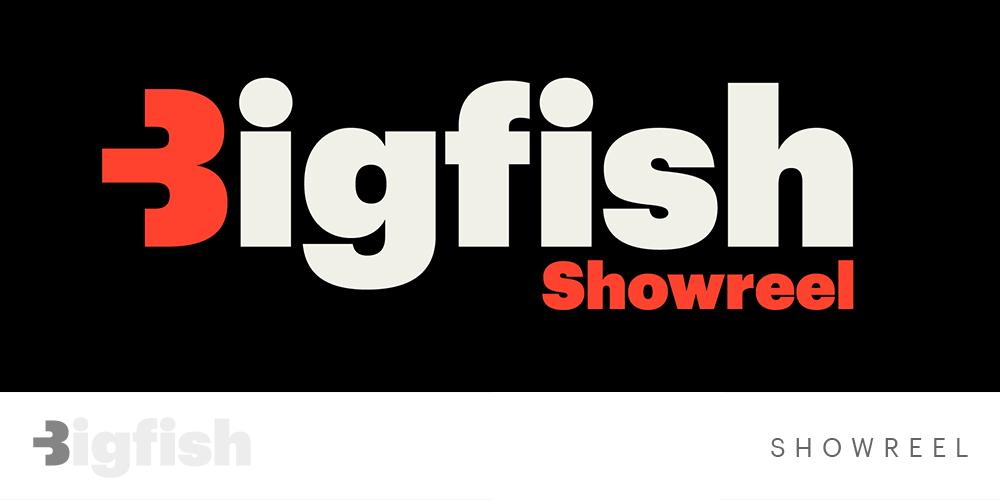 Bigfish Animatie Studio Showreel