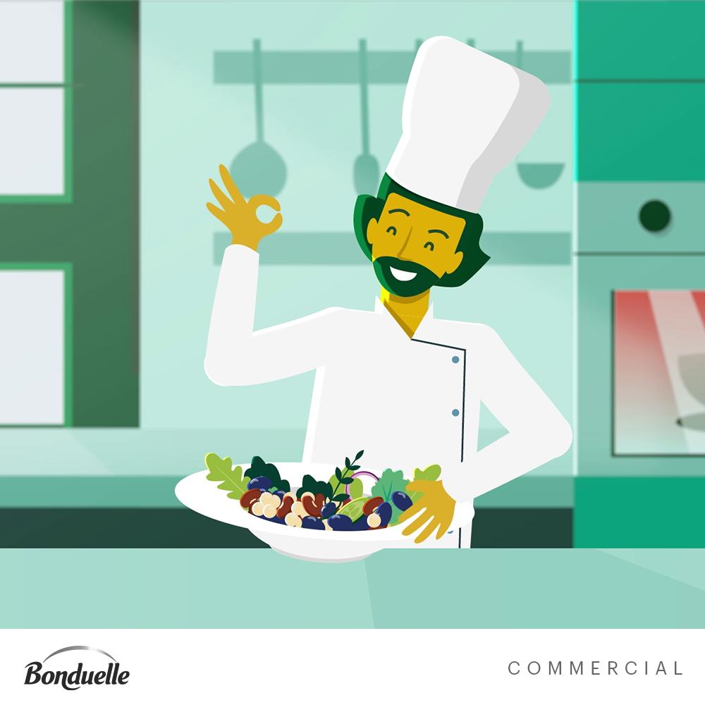 Bonduelle Food Industrie Animatie